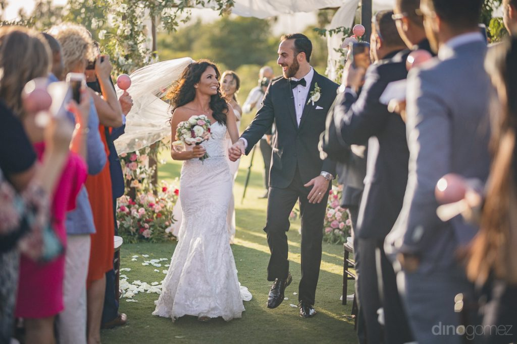 wedding of love at Flora Farms
