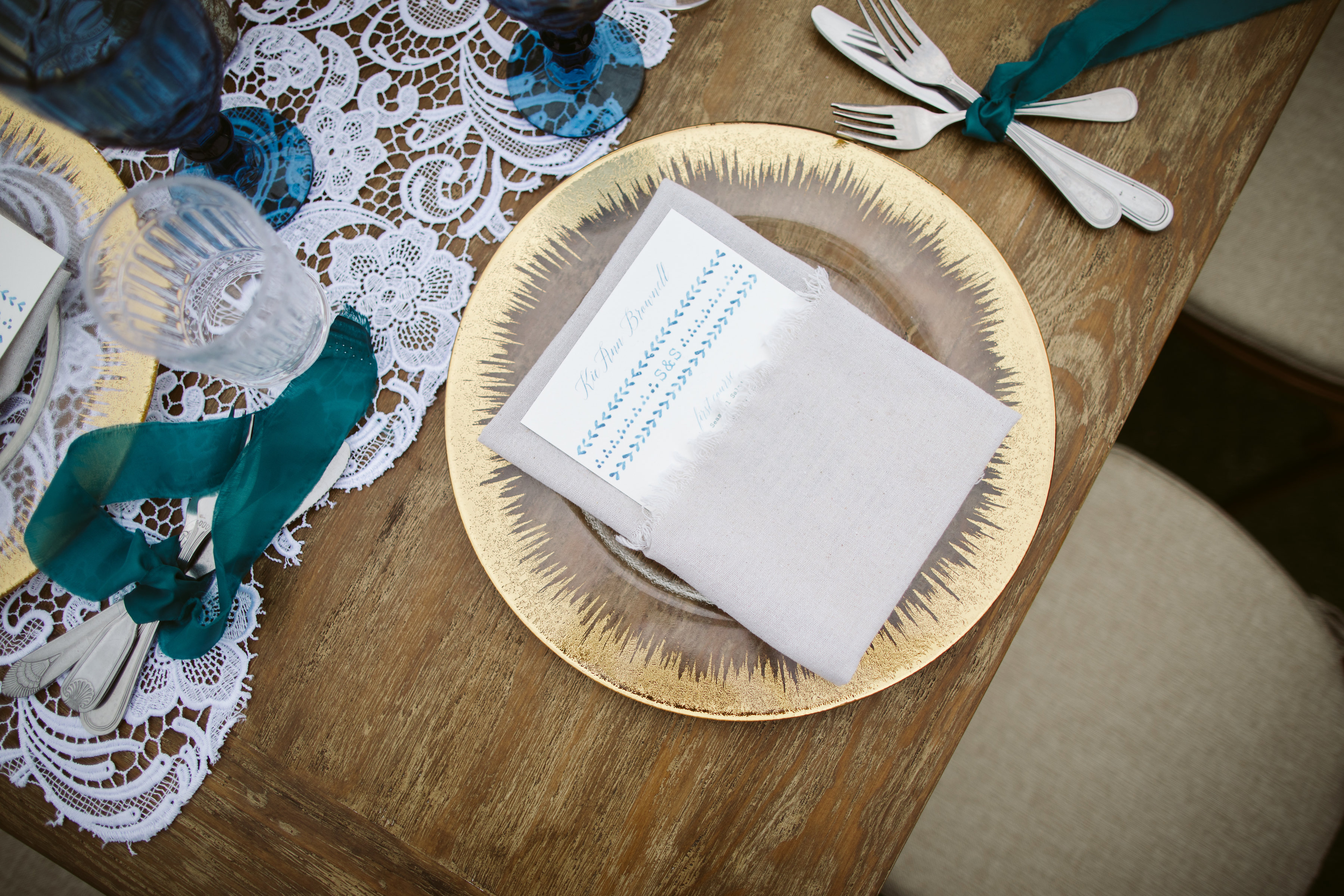 beautiful details at this Mexican themed wedding reception Flora Farms