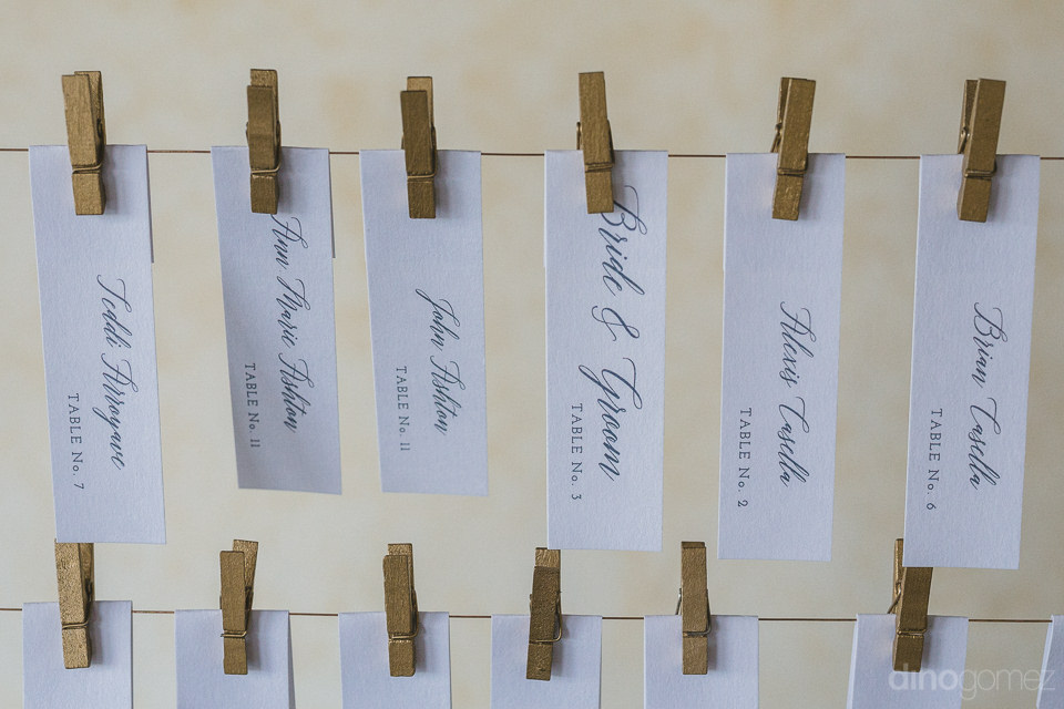 intricate details at Cabo del Sol wedding