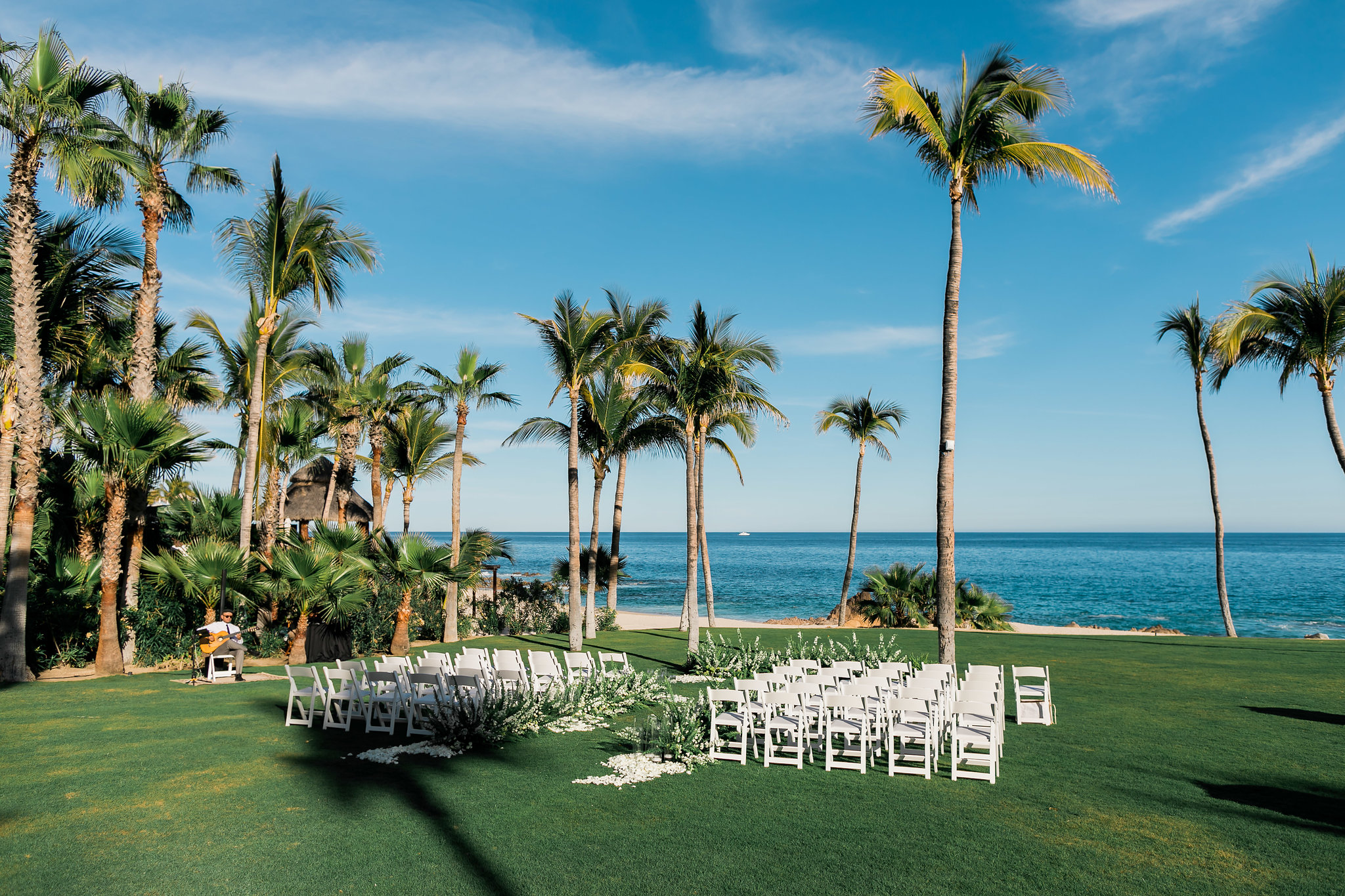 almost time to say 'I do' at White Wedding At The One & Only Palmilla