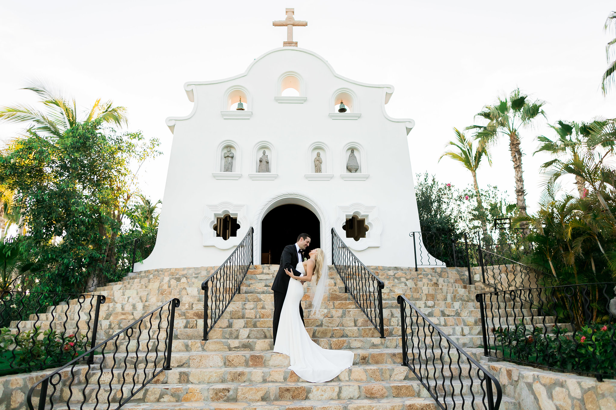 The Chapel at a White Wedding At The One & Only Palmilla