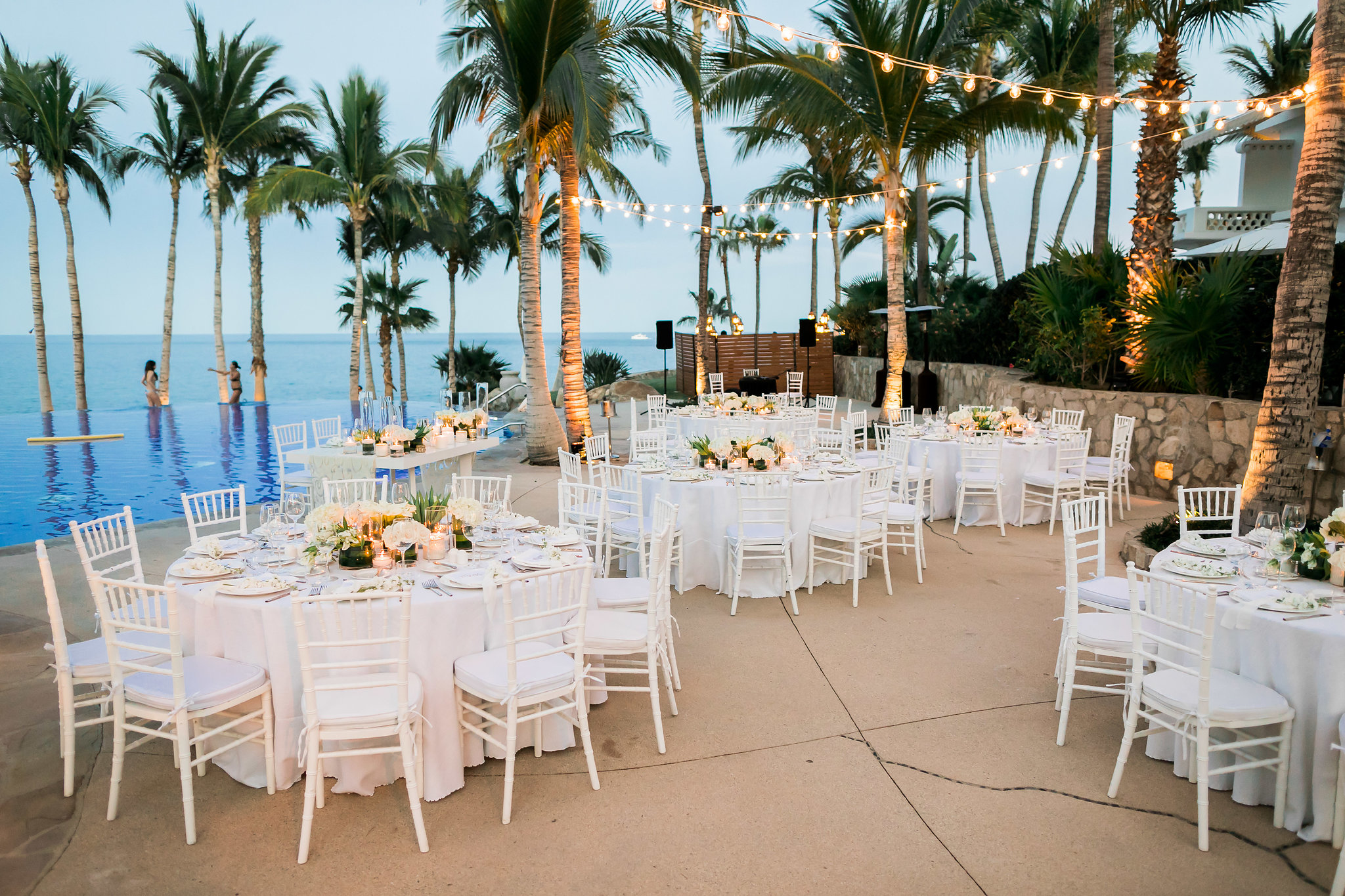 stunning White Wedding At The One & Only Palmilla
