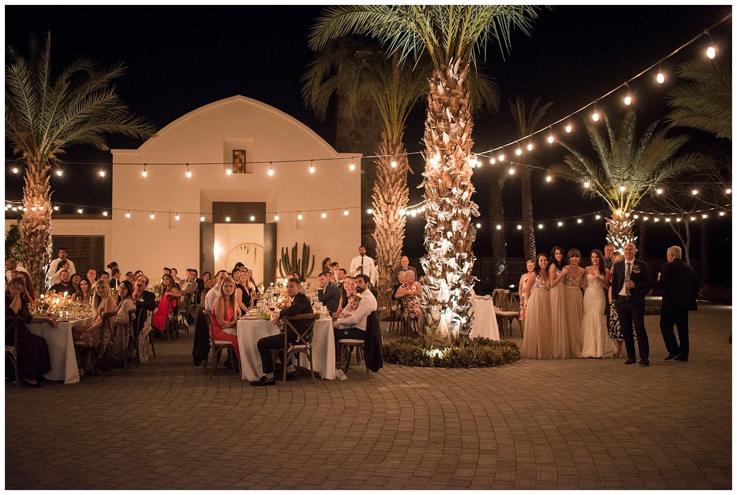 wedding in Todos Santos evening reception