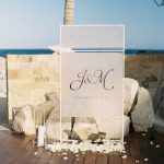 welcome details for wedding at Chileno Bay