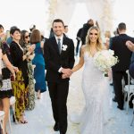 'Just Married' at a Chileno Bay wedding