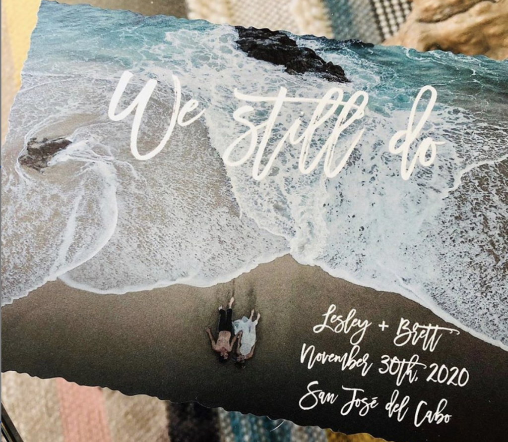 Cabo wedding COVID-19 ideas