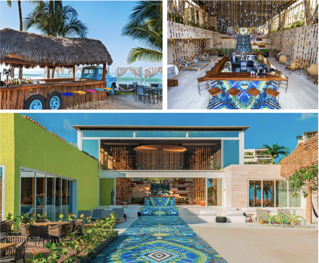 The W Hotel Punta Mita - a favorite Mexico wedding venue choice