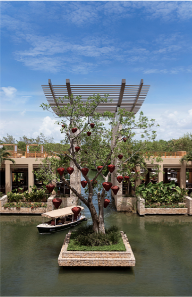 Banyan Tree Mayakoba is a wonderful choice for a Mexico wedding venue