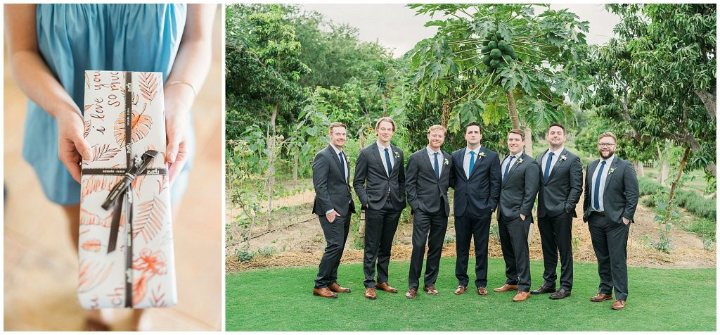 Gifts & Groomsmen - highlights of getting published
